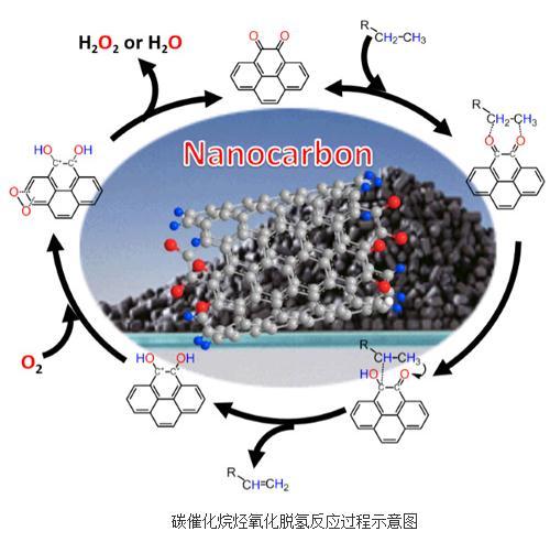 过去五年碳催化烷烃氧化脱氢反应机理研究总结