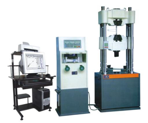 电子式万能试验机的组成部分与操作规程