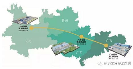 南方电网公司启动乌东德电站送电广东广西特高压多端直流示范工程
