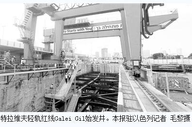 中国中铁隧道局集团:特拉维夫轻轨项目施工技术创新