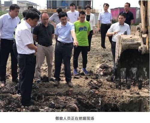 化工废料非法填埋,泰兴化工园区环保整改敷衍了事
