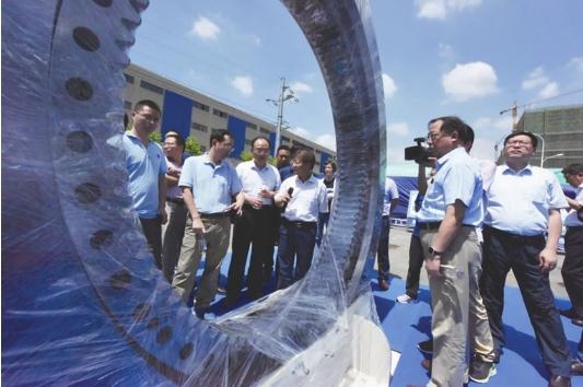 洛阳LYC轴承有限公司:国产盾构主轴承的研制历程