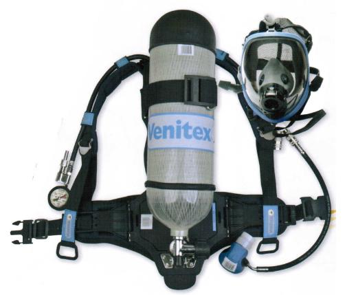 正压式呼吸器结构及主要技术参数