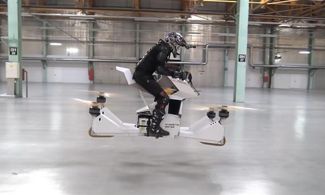 俄罗斯Hoversurf公司研发高空摩托车Scorpion-3