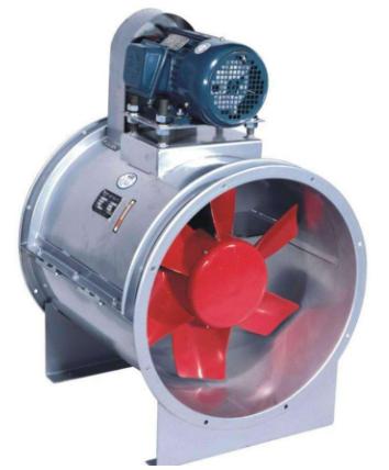 轴流风机安装示意图及振动故障分析与处理方法
