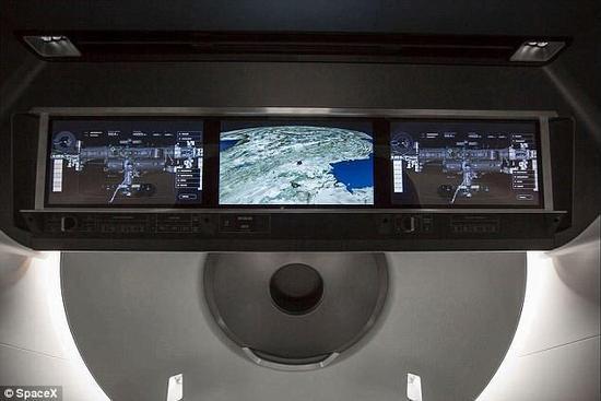 SpaceX载人龙飞船正在测试 预计2024年将人类送上火星