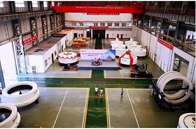 中车永济电机有限公司兆瓦级直驱电机成功下线