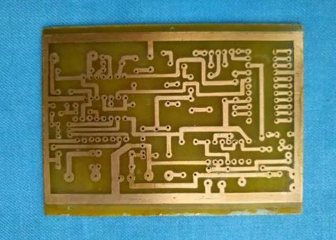 教你如何简单的手工制作电路板
