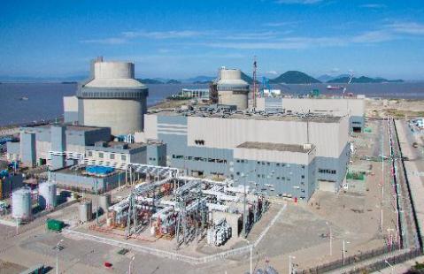 三门核电1号机组首次并网成功