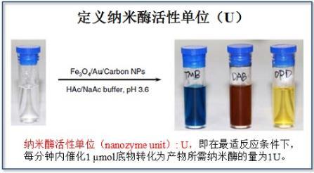 纳米酶活性标准化及定义