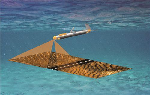 侧扫声呐获取了普吉岛游船沉没位置的实测资料