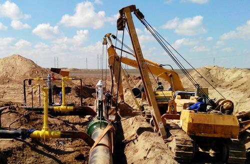 全自动焊机应用于中俄东线天然气管道工程