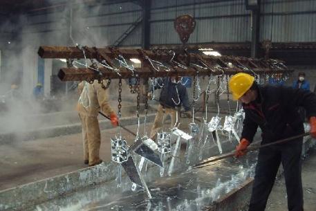 热镀锌工艺:锌液温度、耐热性、锌渣、白锈等知识讲解