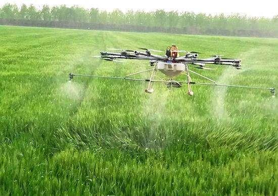 """植保无人机搭载微型机载设备,实现病虫害识别与防治""""查施一体化"""""""