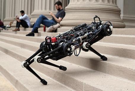 Cheetah 3猎豹机器人:没有摄像头也可以躲避障碍物
