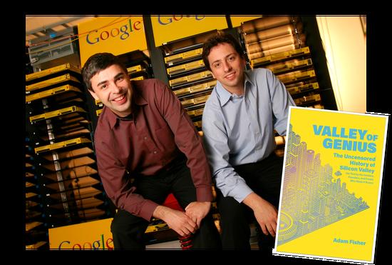 拉里·佩奇(Larry Page)和谢尔盖·布林(Sergey Brin)口述谷歌诞生记