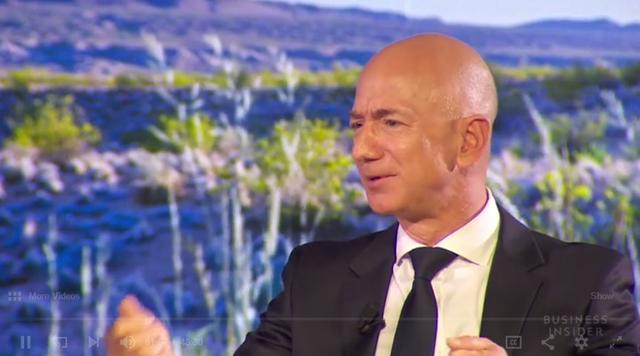 杰夫·贝佐斯(Jeff Bezos)——世界上最富有的人的感觉及使命
