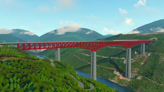 元江特大桥:高墩减重为桥梁建设提供借鉴