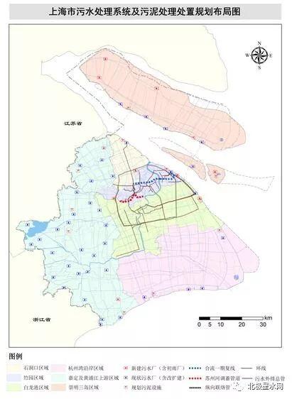 《上海市污水处理系统及污泥处理处置规划(2017-2035年)》解读
