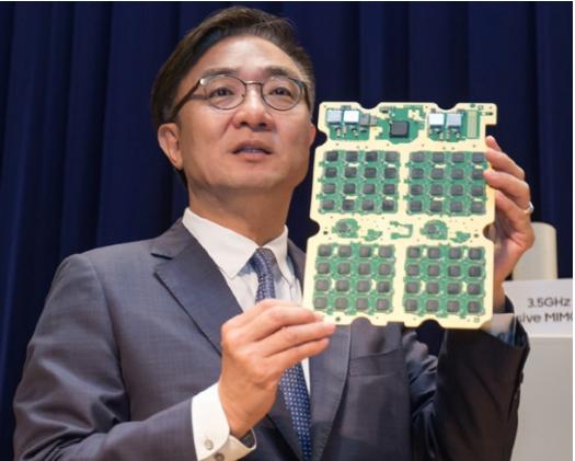 三星希望在5G的3.5GHz频段上击败华为