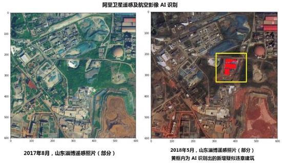 阿里卫星遥感及航空影像AI识别技术让违法用地无处遁形
