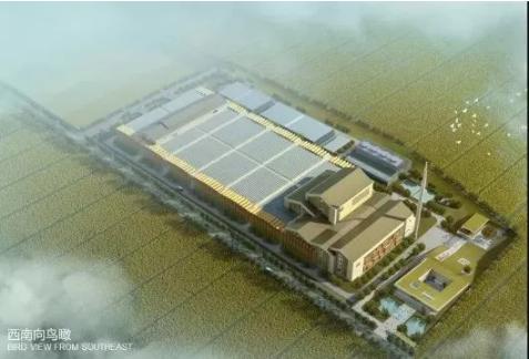 亚洲第一、国际领先的新一代生活垃圾焚烧发电技术成功运营。