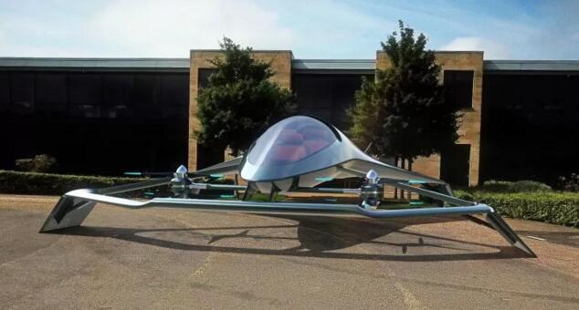 阿斯顿·马丁推有垂直起降 (VTOL) 功能的豪华概念飞机VolanteVisionConcept