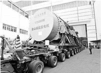 台山核电1号机组成为全球EPR三代核电首堆工程