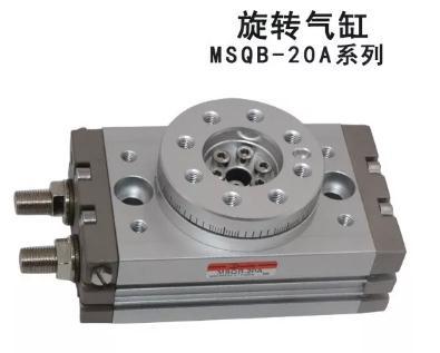 旋转气缸的工作原理、结构类型、技术指标