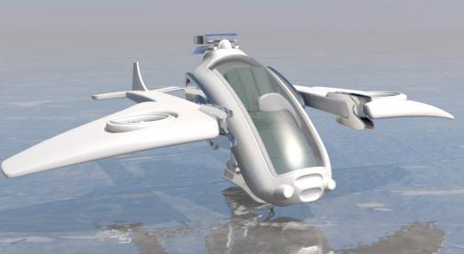 振动式能量收集器:能让飞行器一边飞行一边给自己充电