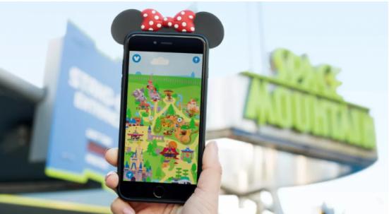 迪士尼推出专款游客排队使用的AR手游