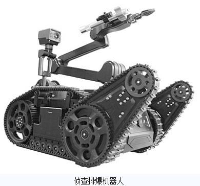 特种机器人的工作方式