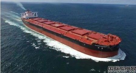 外高桥造船:40万吨矿砂船H1446顺利试航归来