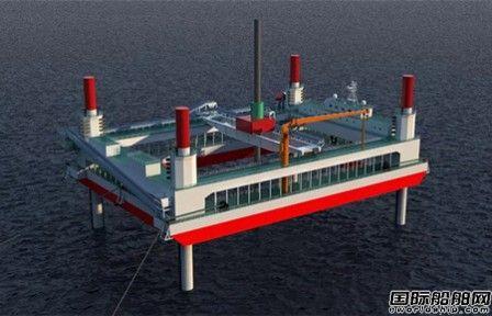 自升平台式碎石铺设整平船预计将于2019年5月31日交船
