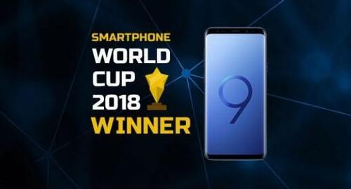 2018智能手机世界杯三星S9+夺冠、一加6亚军、vivo NEX及华为P20 Pro获第三四名
