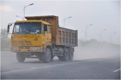 天津市严格管控渣土车、机动车污染