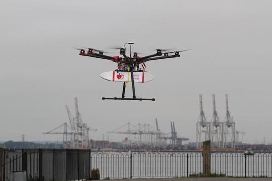 无人飞行器如何造福城市?探索医疗、交通、火灾、建筑等领域