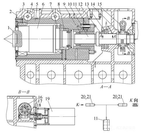 重型卧式车床尾座预紧力智能测量装置的结构设计、工作原理