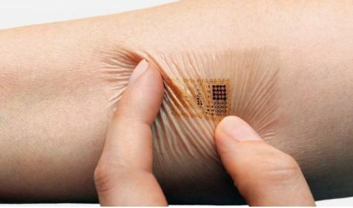 中国科学家研制出石墨烯电子纹身 未来可监测健康状况