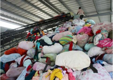千亿元级市场潜力的废旧纺织品循环再生产业