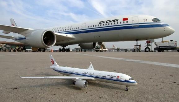 国航A350客机成功完成首航 最大航程达15000公里