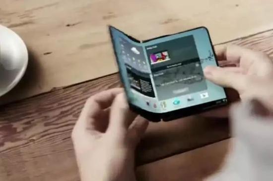 可折叠屏幕(foldable display)手机,三星电子总裁高东真:不会让各界等太久!