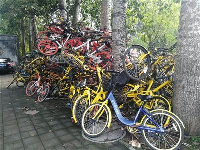共享单车想用的时候找不到,不用的时候一大堆!