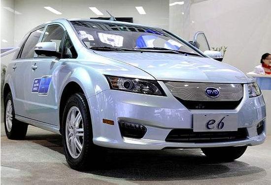 比亚迪e6进驻曼谷 中国电动车走向海外出租市场