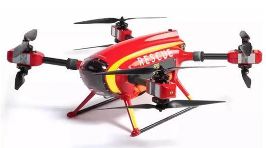 Auxdron Lifeguard Drone无人机应用于海上救援