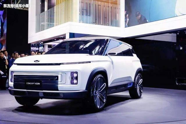 Concept Icon:吉利全新概念车,新车换新标颜值高配置全堪称奢华!