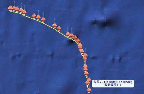 """大洋4000米深海自持式剖面浮标""""浮星""""海试成功"""