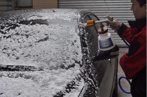 汽车精洗流程