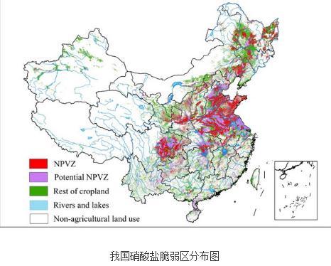 我国农业源氮磷生态脆弱区及监测评估体系