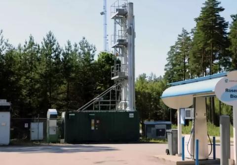 生物甲烷在瑞典汽车燃气中的份额达到90%